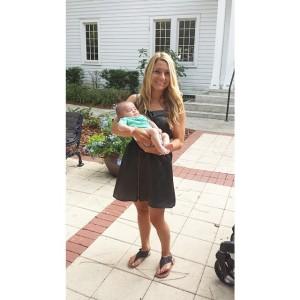 8-11-15 Olivia holding a preemie